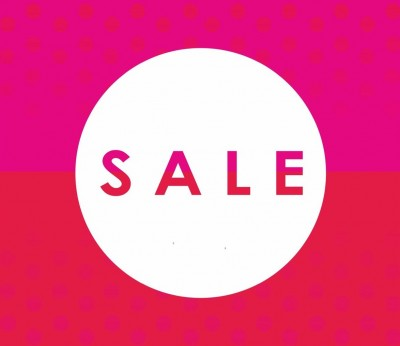 SALE SALE SALE STARTS SATURDAY 6TH JAN  IN OUR CUCKFIELD SHOP ONLY