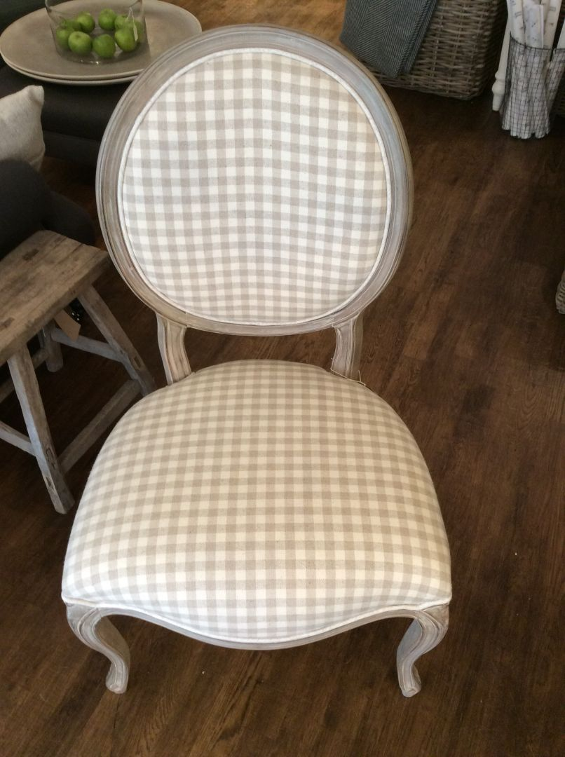 Hand painted furniture chairs tables for sale for Upholstered dining chairs for sale