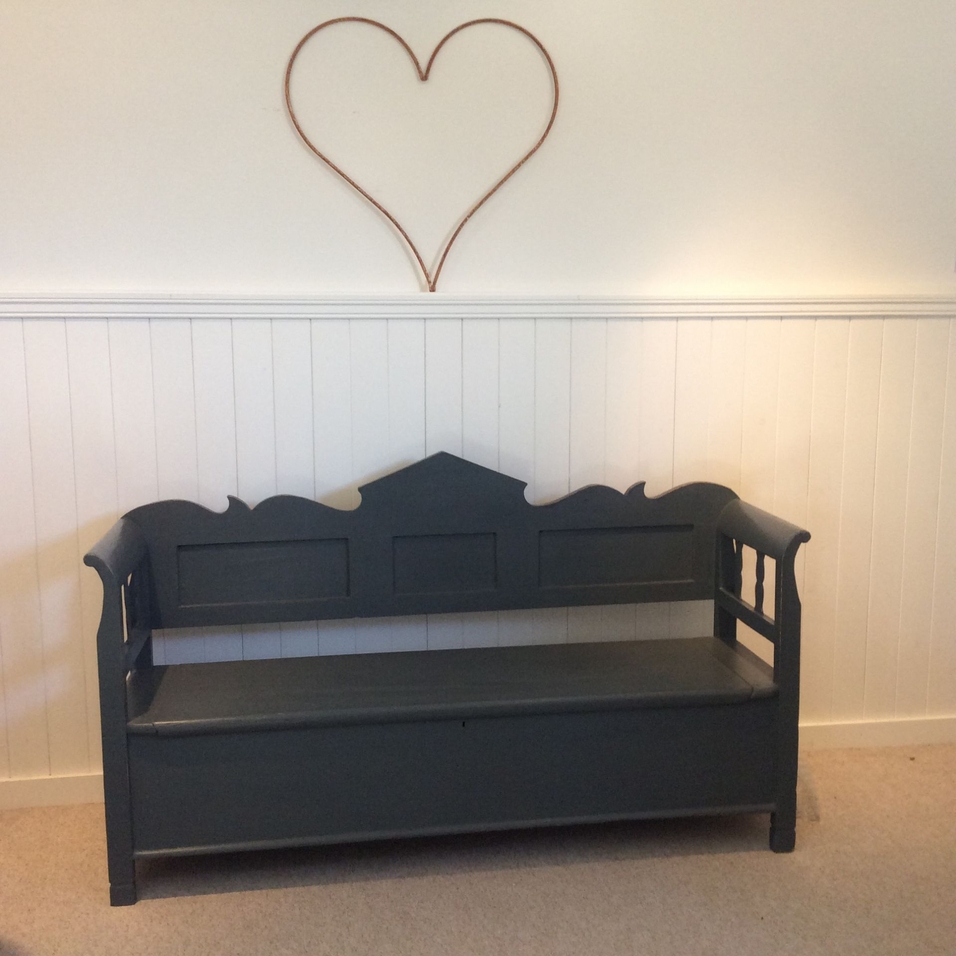 Favorite Hand Painted Furniture - Bedsides, Benches & Bookcases For Sale  FY93