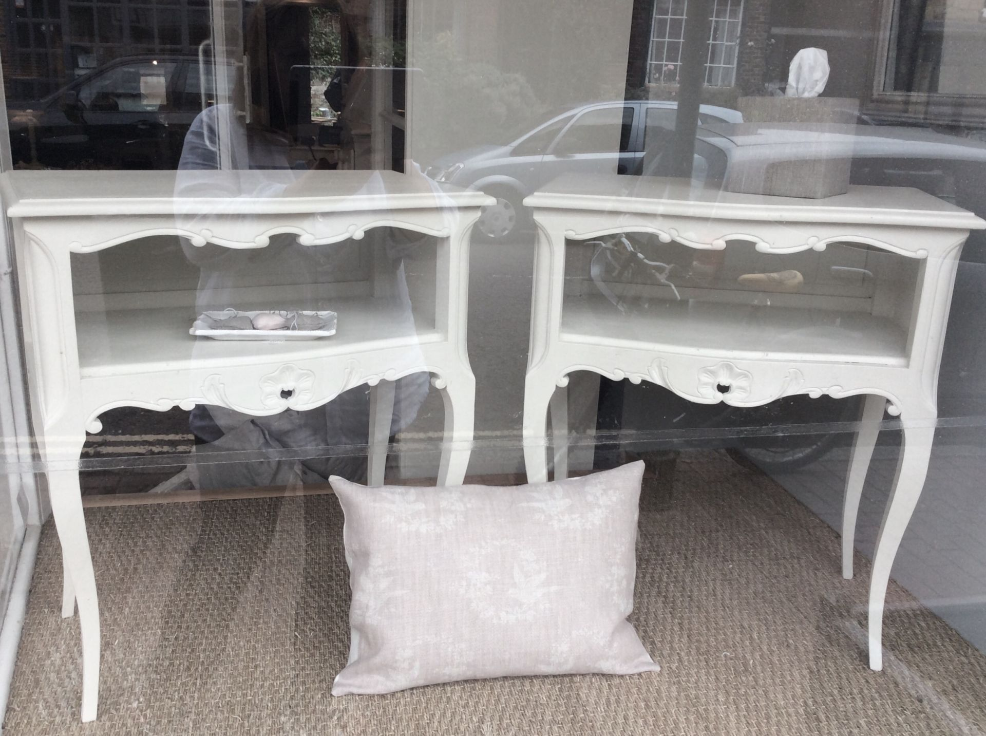Hand painted furniture bedsides benches bookcases for sale french bedside tables watchthetrailerfo