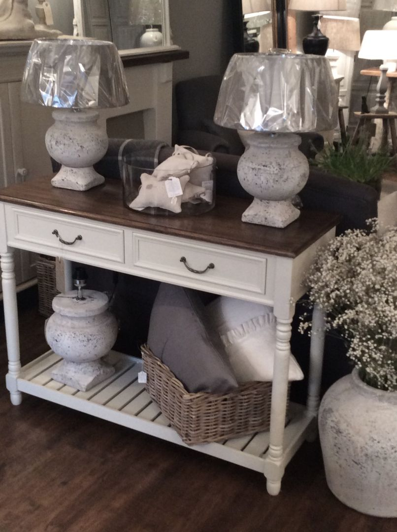 Hand Painted Furniture Bespoke Furniture Table Lamps For Sale The St Giles Console Table