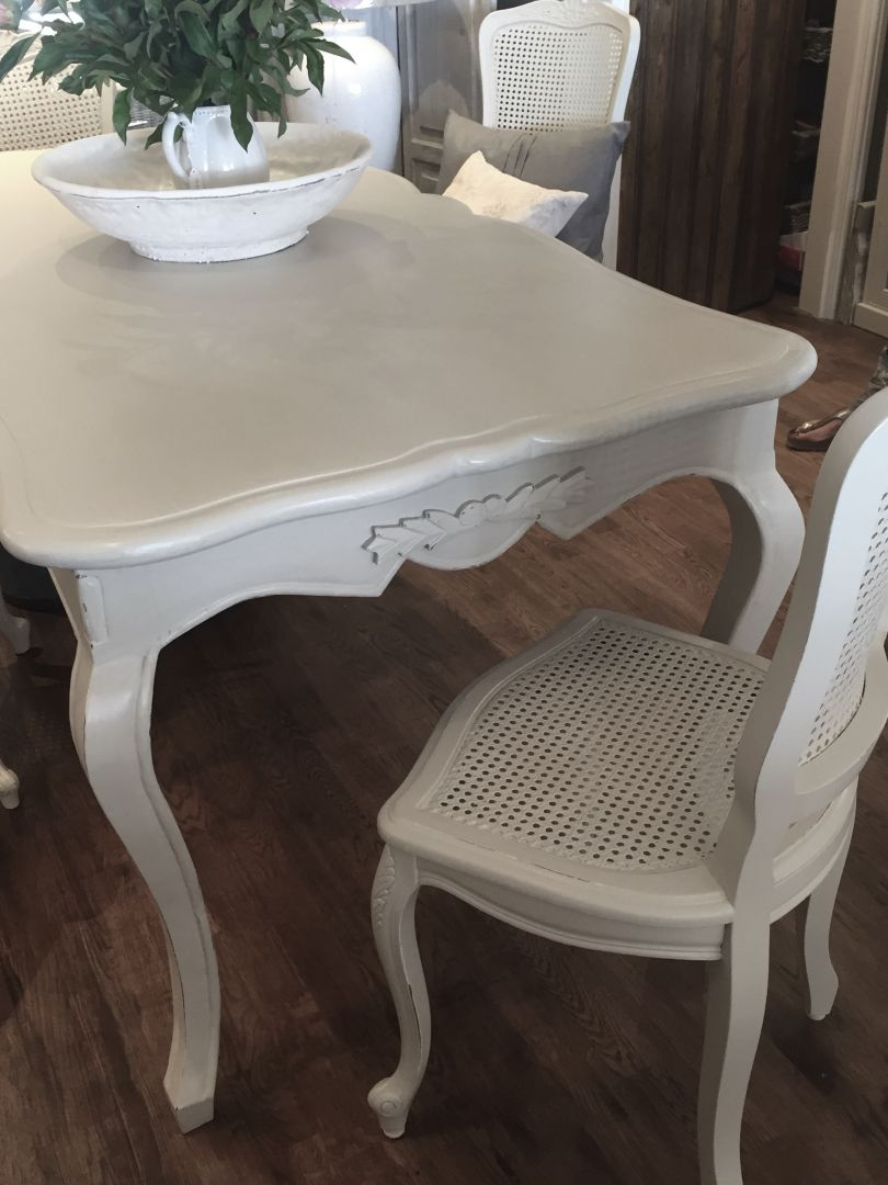 Hand Painted Furniture Chairs Amp Tables For Sale Beautiful French Style Dining