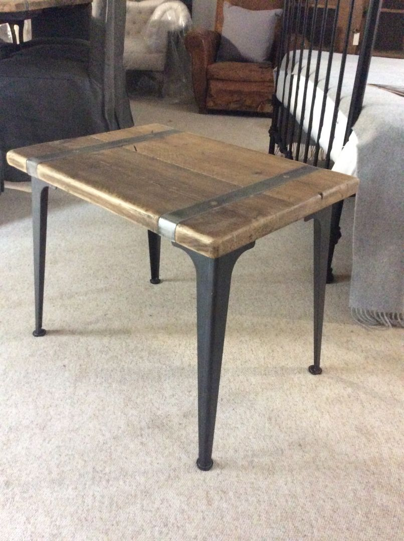 Industrial Small Side Table / Coffee Table