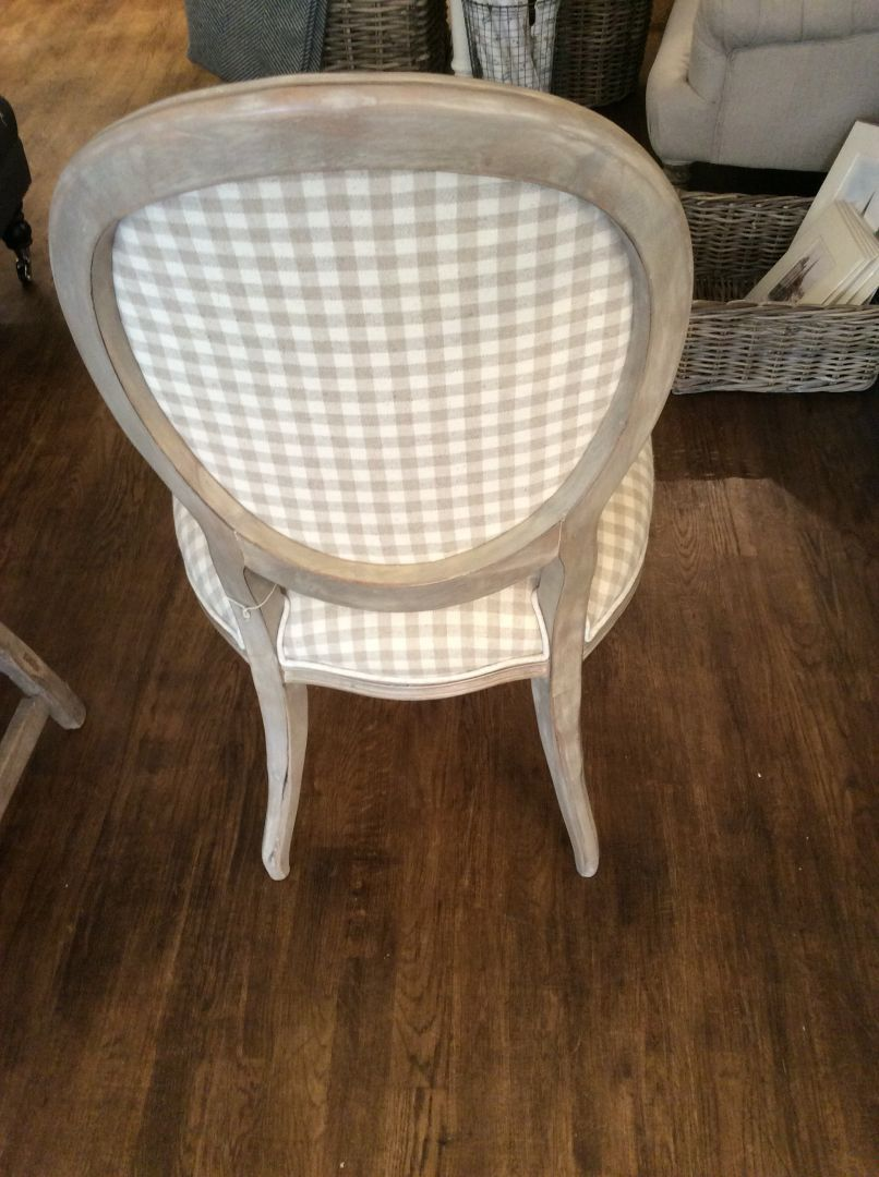 hand painted furniture chairs tables for sale upholstered dining chairs pepperbox interiors. Black Bedroom Furniture Sets. Home Design Ideas