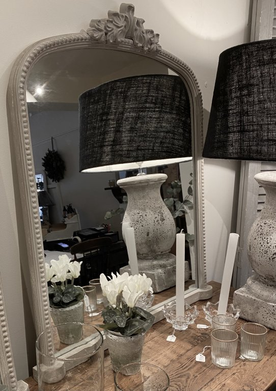 French Inspired Overmantel Mirror