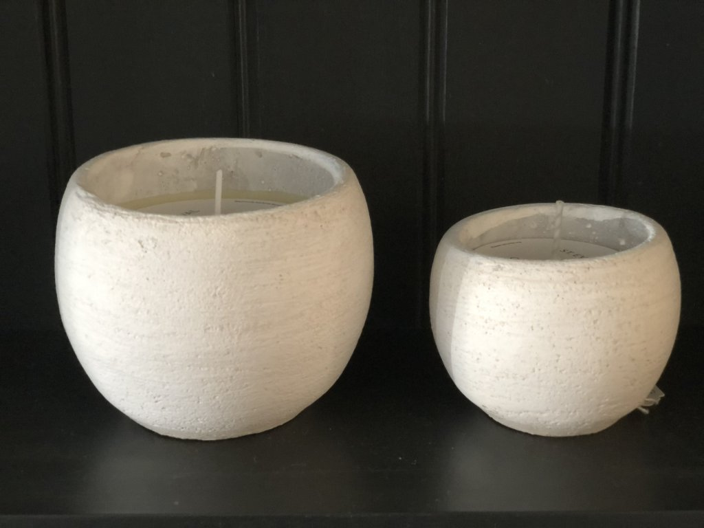 St Eval Secret Garden Candle Pots