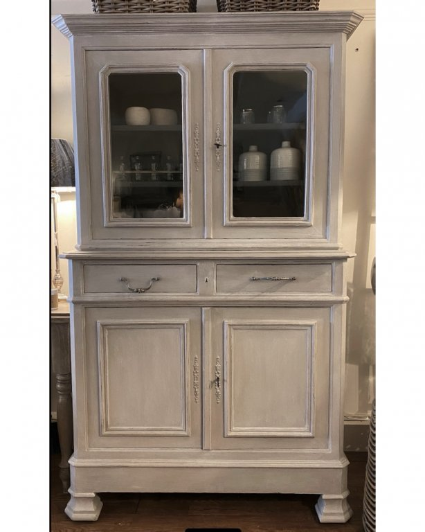 Original French Glazed Dresser