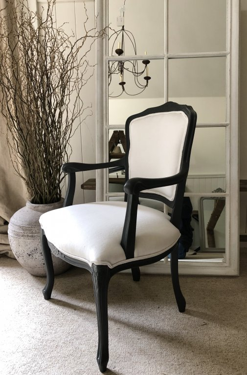 Pair French Fauteils Chairs