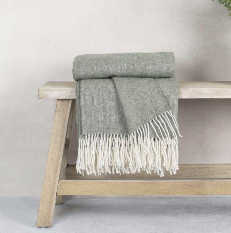 100% Wool Throws