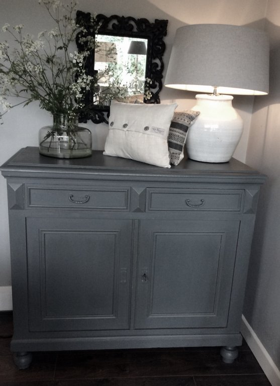 Handsome French Double Cupboard