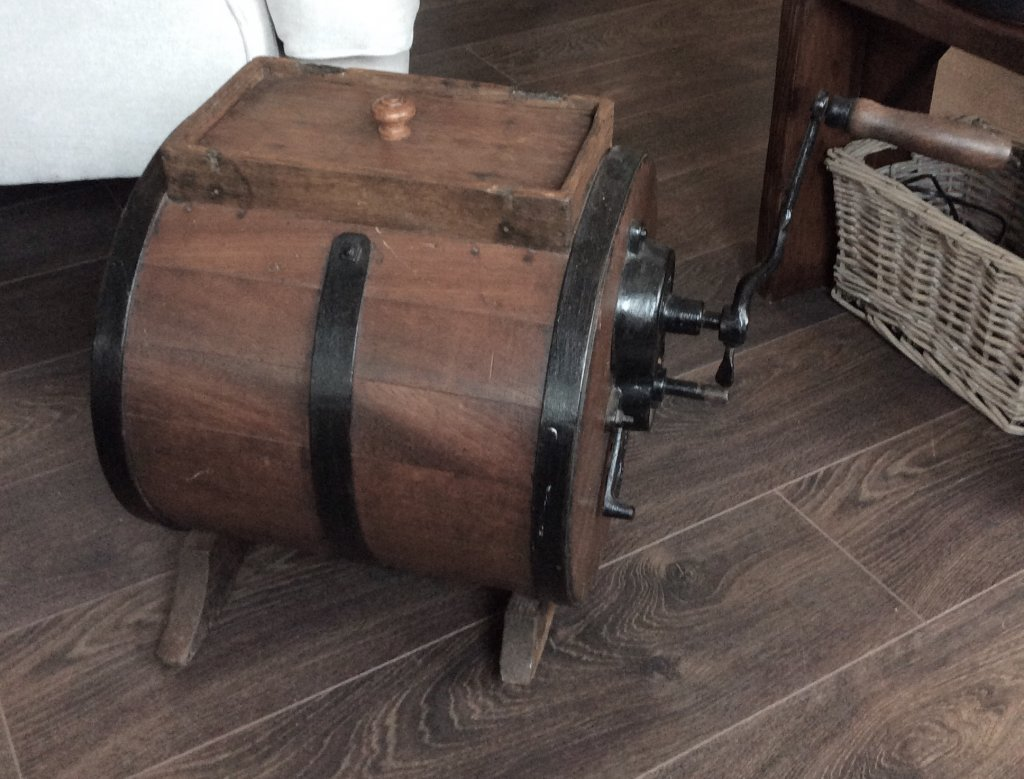 French Butter Churn