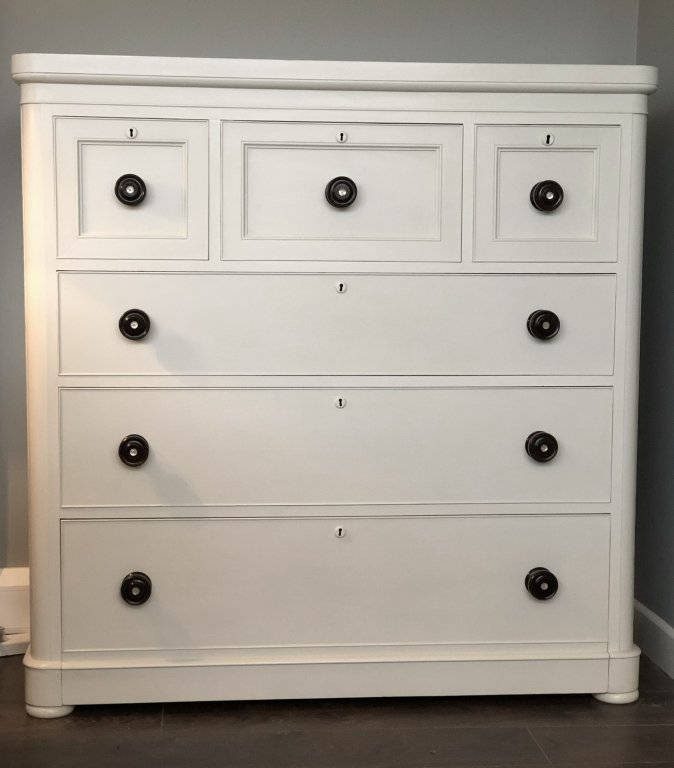 Victorian Scotch Chest Of Drawers