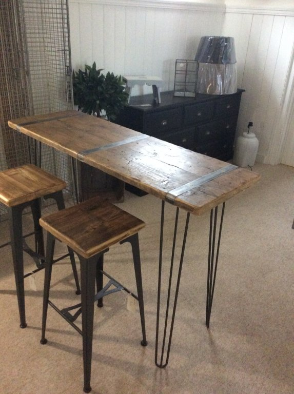 Industrial Console Table / Bar