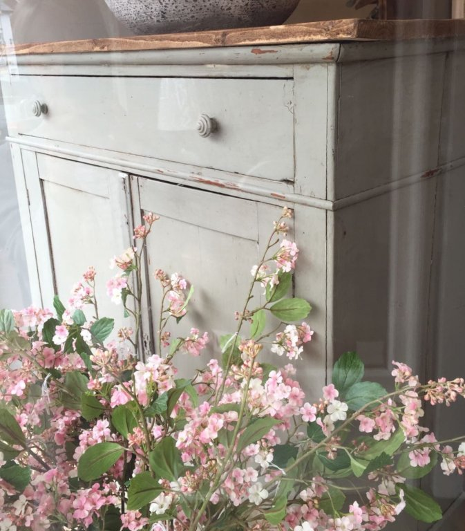 Vintage Original French Floor Cupboard