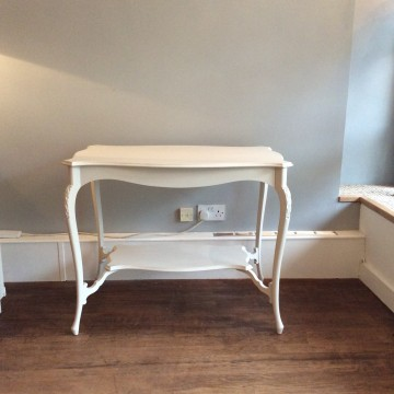 Hand Painted Side Table / Sofa Table