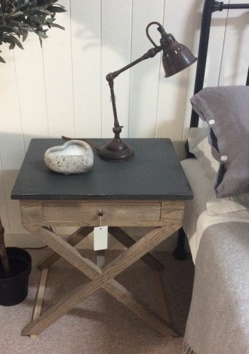 Cross Frame Side Table