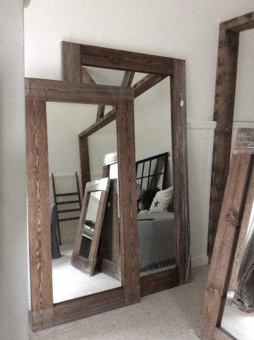 Our Range Of Rustic Mirrors