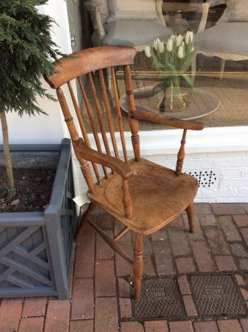 Vintage Fireside Chair