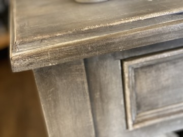 Painted Rustic Console Table