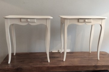 Pair Side Tables / Bedsides