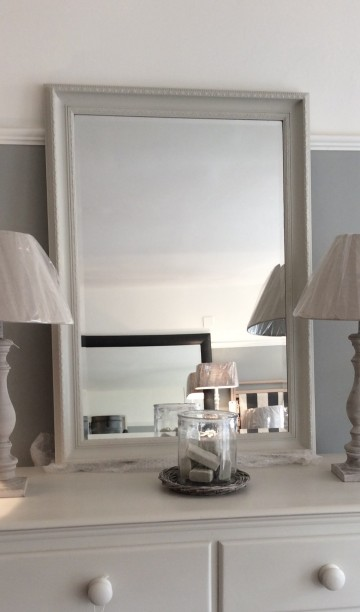 Classic Rectangular Bevelled Mirror