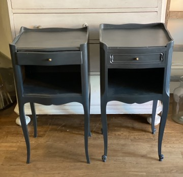 Pair French Bedsides