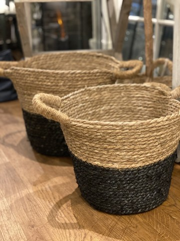 Two Tone Sea Grass Baskets