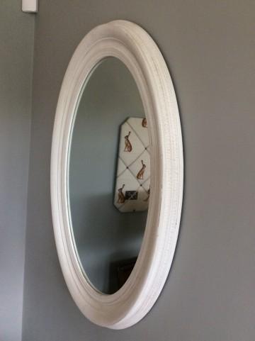 Ophelia Oval Mirror