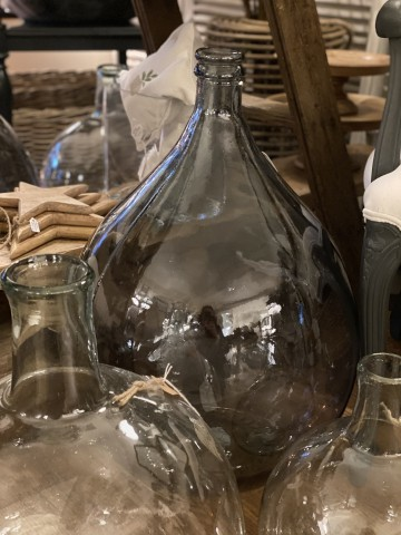 Recycled Glass Reproduction Carboys