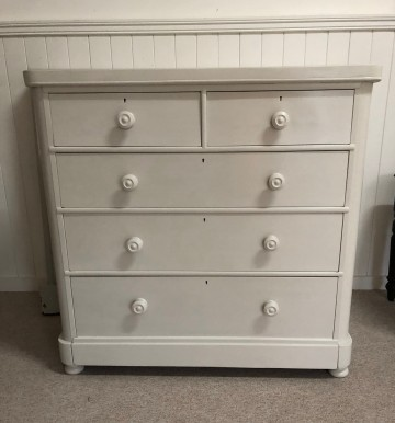 Victorian Hand Painted Chest Of Drawers