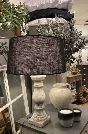 Small Stone Balustrade Lamp