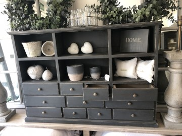 Vintage Set Of Drawers With Pigeon Holes